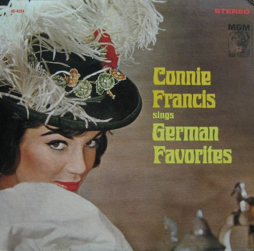 CONNIE FRANCIS - SINGS GERMAN FAVORITES