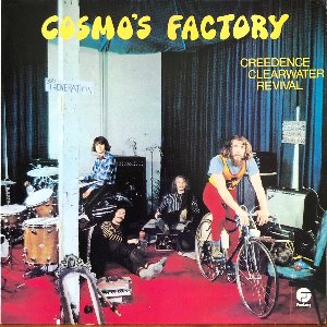 C.C.R CREEDENCE CLEARWATER REVIVAL - COSMO'S FACTORY