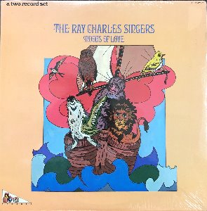 The Ray Charles Singers - Moods Of Love (2LP)