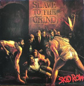 Skid Row - Slave To The Grind (해설지)