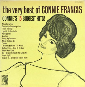 CONNIE FRANCIS - CONNIE'S 15 BIGGEST HITS