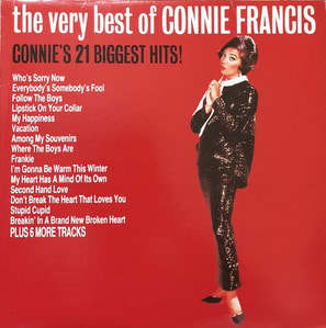 CONNIE FRANCIS - CONNIE'S 21 BIGGEST HITS
