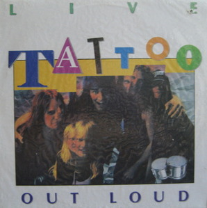 TATTOO - LIVE/OUT LOUD (미개봉)