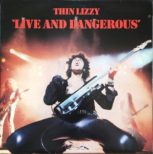 THIN LIZZY - LIVE AND DANGEROUS (대형포스터/2LP)