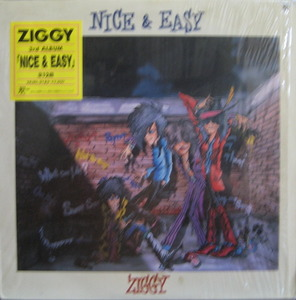 "ZIGGY - Nice & Easy (""LP Japan Heavy Metal Mega Rare !)"