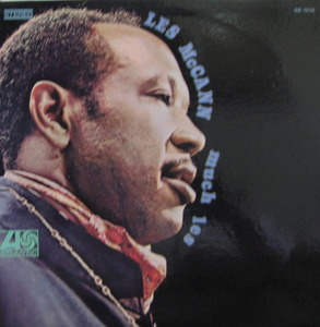 "LES McCANN - MUCH LES ('JAZZ/BLUES"")"