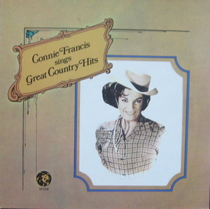 CONNIE FRANCIS - Sings Great Country Hits