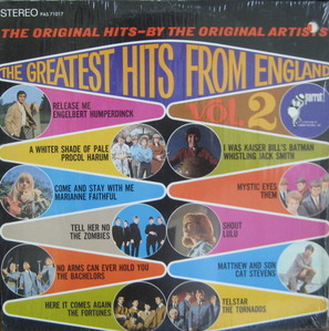 THE GREATEST HITS FROM ENGLAND - Vol.2