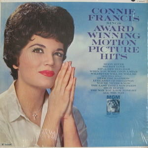 CONNIE FRANCIS - SINGS AWARD WINNING MOTION PICTURE HITS