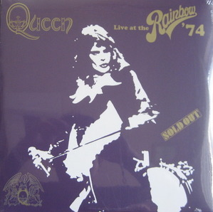 QUEEN - LIVE AT THE RAINBOW 74 (2LP)