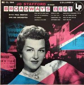 JO STAFFORD - Broadway,s Best