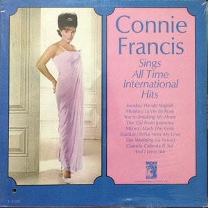 CONNIE FRANCIS - Sings All Time International Hits