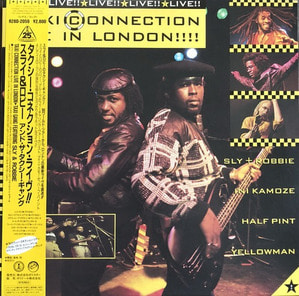 TAXI CONNECTION / SLY & ROBBIE - LIVE IN LONDON / Reggae (OBI'/가사지)