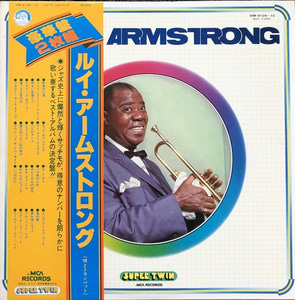 LOUIS ARMSTRONG - THE BEST OF LOUIS ARMSTRONG (OBI'/가사지/2LP)