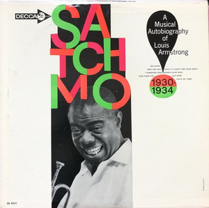 "LOUIS ARMSTRONG - Satchmo 1930-1034 (""PROMO 레드라벨"")"