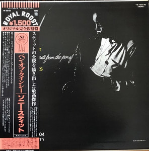 SONNY STITT - Sonny Stitt Plays From The Pen Of Quincy Jones (해설지/OBI')
