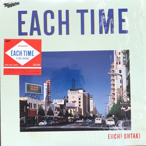 "EIICHI OHTAKI - EACH TIME (OBI없이나온음반/해설지) ""City Pop"""