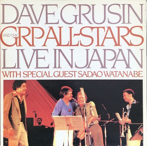 DAVE GRUSIN AND THE GRP ALL STARS - LIVE IN JAPAN