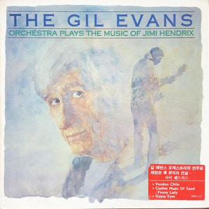 GIL EVANS - PLAYS MUSIC OF JIMI HENDRIX