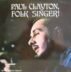 PAUL CLAYTON - Folk Singer