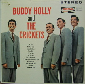 BUDDY HOLLY - Buddy Hlolly And The Crickets