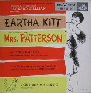 EARTHA KITT - Mrs.Patterson  (3EP)
