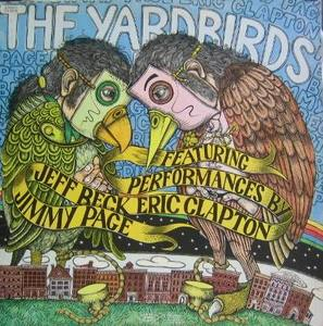 THE YARDBIRDS - Featuring Performances By Jeff Beck Eric Clapton Jimmy Page  (2LP)
