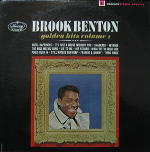 "BROOK BENTON - Golden Hits Volume 2 (""THINK TWICE"")"