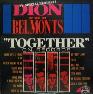 DION THE BELMONTS - Together