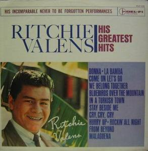 RITCHIE VALENS - His Greatest Hits