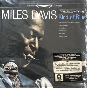 MILES DAVIS - KIND OF BLUE  (180g COLUMBIA 88697680571) PREMIUM VINYL PRESSING