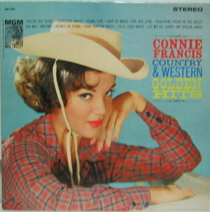CONNIE FRANCIS - Country & Western Golden Hits