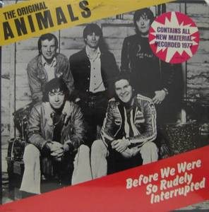 ANIMALS - Before We Were So Rudely Interrrupted