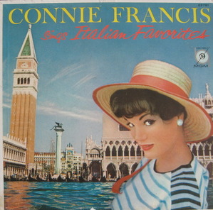 CONNIE FRANCIS - sing Italian Favorites