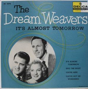 THE DREAM WEAVERS - It's Almost Tomorrow (45 EP)
