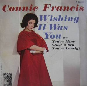 CONNIE FRANCIS  (45RPM 싱글)