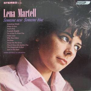 LENA MARTELL - Someone New Someone Blue