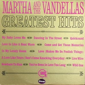 MARTHA and the VANDELLAS - Greatest Hits