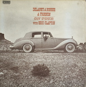 "DELANEY & BONNIE & FRIENDS WITH ERIC CLAPTON - ON TOUR (""1970 1st PRESS RARE"")"