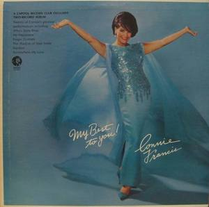 CONNIE FRANCIS - MY BEST TO YOU (2LP)