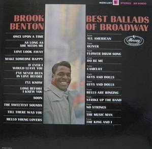 BROOK BENTON - Best Ballads Of Broadway