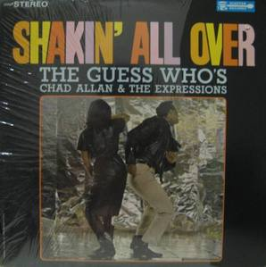 THE GUESS WHO'S/CHAD ALLAN & THE EXPRESSIONS - Shakin' All Over