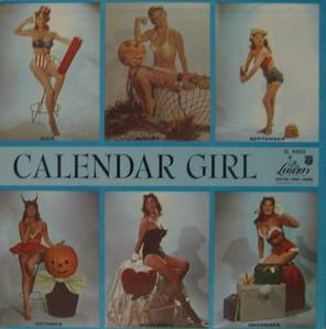 JULIE LONDON - CALENDAR GIRL