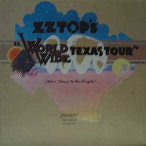 ZZ TOP - World Wide Texas Tour (PROMOTIONAL COPY)