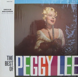 "PEGGY LEE - The Best Of Peggy Lee (2LP) ""BLACK COFFEE"""