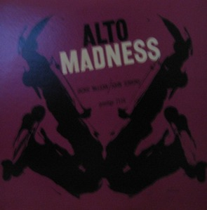 JACKIE McLEAN and JOHN JENKINS - ALTO MADNESS