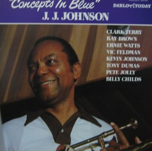 J.J.JOHNSON - CONCEPTS IN BLUE