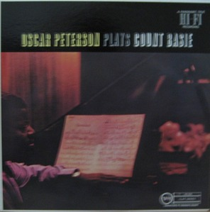 OSCAR PETERSON - Plays Count Basie