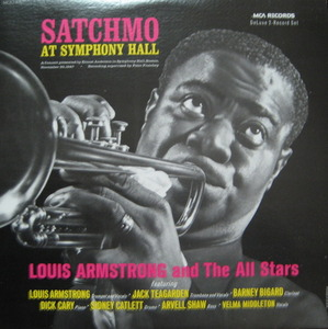 LOUIS ARMSTRONG - SATCHMO AT SYMPHONY HALL (2LP)