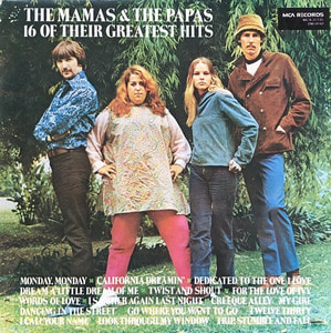 MAMAS & PAPAS - 16 OF THEIR GREATEST HITS